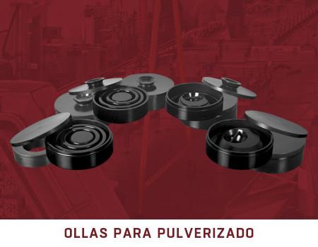OLLAS PARA PULVERIZADO